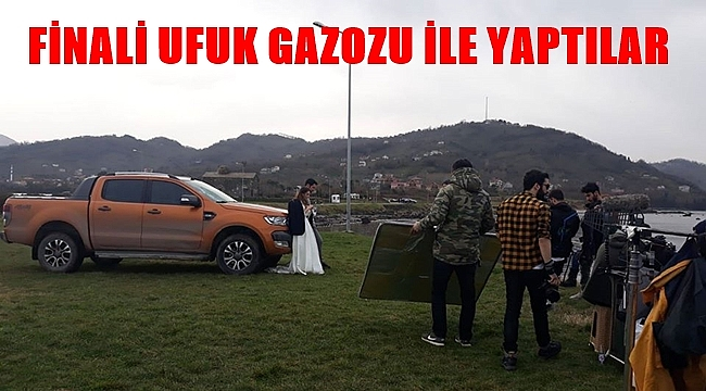 """""""Aşk Çağırırsan Gelir"""" filminin finali Ufuk Gazozu ile yapıldı"""