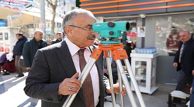 Başkan Güler: Proje ara sokaklara da uygulanacak