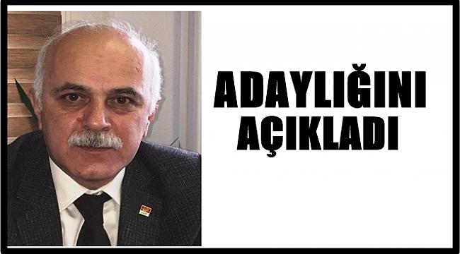 CHP'de Osman Güngör adaylığını açıkladı