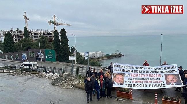 Erdoğan ve Güler'e teşekkür ettiler