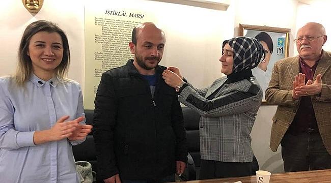 İlçe Yönetimi Komple İstifa Edip İYİ Parti'ye katıldı
