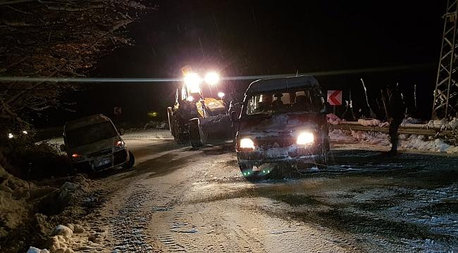 Ordu Büyükşehir Belediyesi karla etkin mücadele ediyor