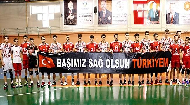 Akkuş Belediyespor'dan Mehmetçiğe tam destek