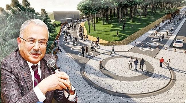 Başkan Güler: Boztepe'yle birlikte Yoroz ve Kurul'a da seyir terası düşünüyoruz