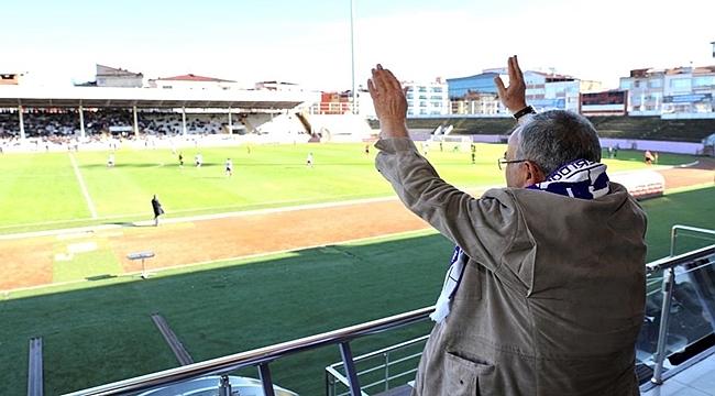 Büyükşehirden amatör spor kulüplerine destek