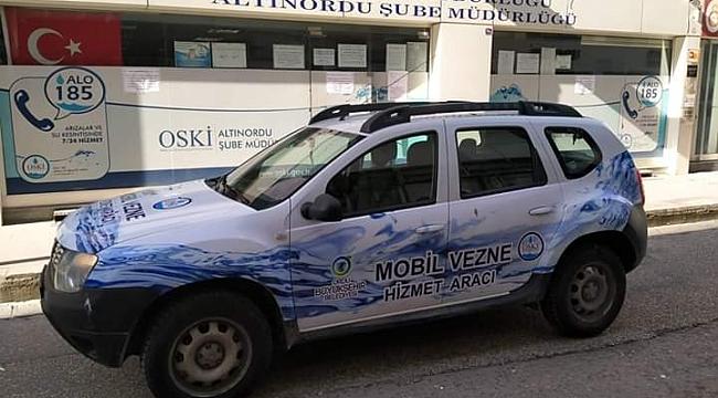 Büyükşehirden Mobil Vezne hizmeti