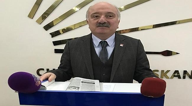 CHP İl Başkanı Şahin: Ulaş Tepe'nin önü kesilmek isteniyor