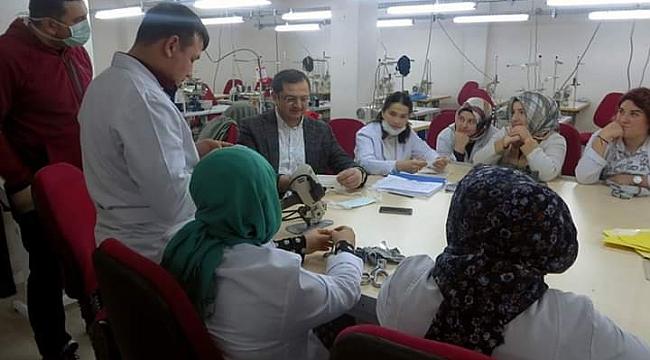 Fatsa'da 50 bin adet maske üretilecek