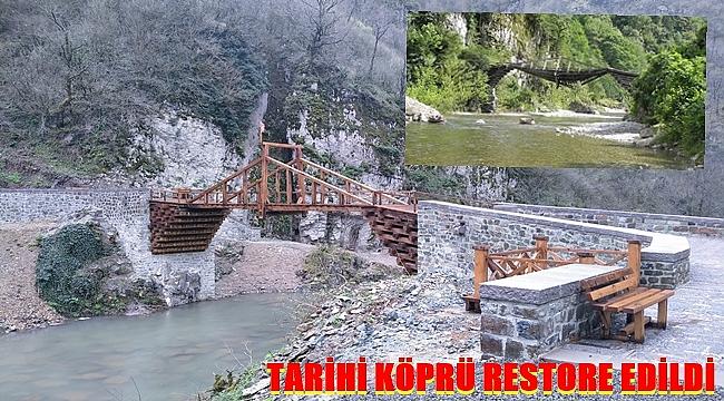 Karayolları Genel Müdürlüğü Başkotanı Köprüsü'nü restore etti