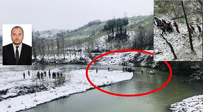Ordu'da otomobil dereye uçtu sürücüsü öldü