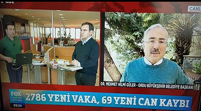 Başkan Güler FOX TV'de canlı yayında açıkladı