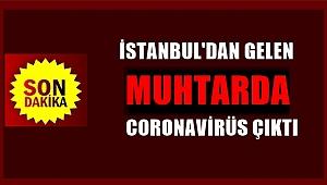 İstanbul'dan gelen muhtarda Coronavirüs tespit edildi