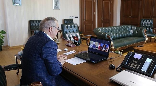 Başkan Şahin sorunları Bakan Pekcan'a iletti