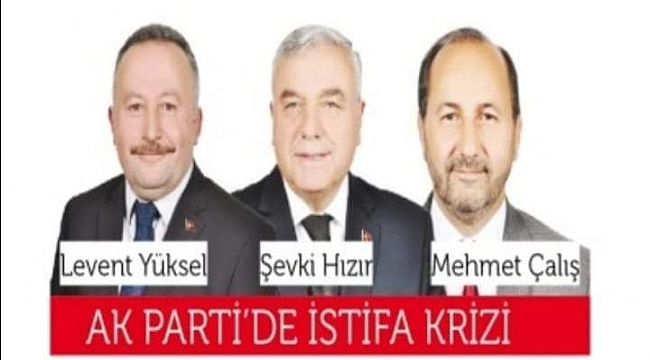 2 Belediye Meclis Üyesi AK Parti'den istifa etti