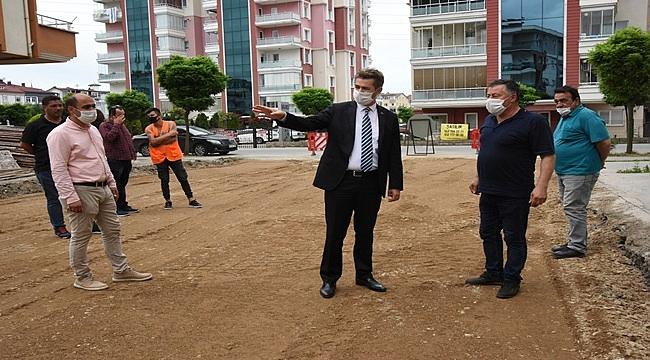 Karşıyaka'da alt yapı yenileniyor