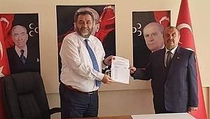 MHP Gürgentepe İlçe Başkanlığına atama yapıldı