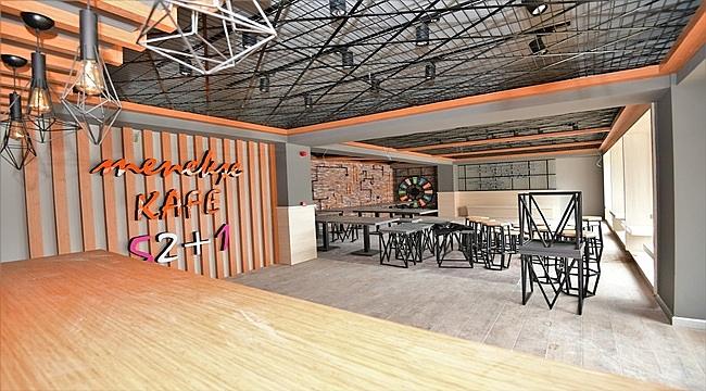 52+1Down Menekşe Kafe açılıyor