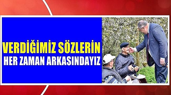 """Başkan Tandoğan""""Sorumluluğumuzun bilincindeyiz"""""""