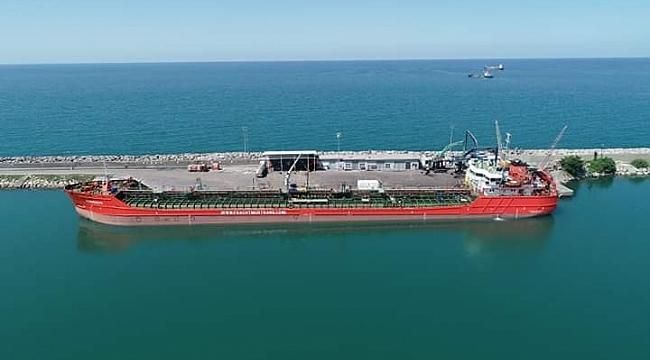 Ünye Limanı Tehlikeli Madde Uygunluk Belgesi Aldı