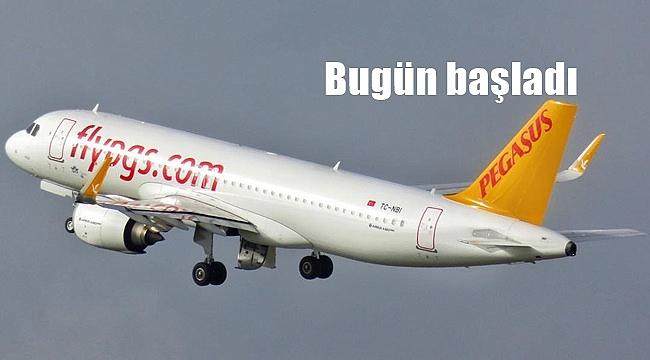 İzmir uçuşları başladı