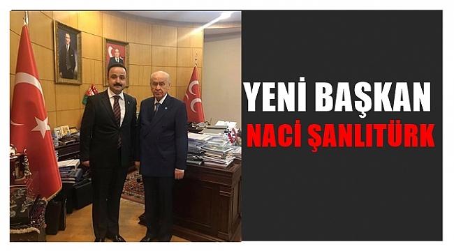 MHP İl Başkanlığına Naci Şanlıtürk getirildi.