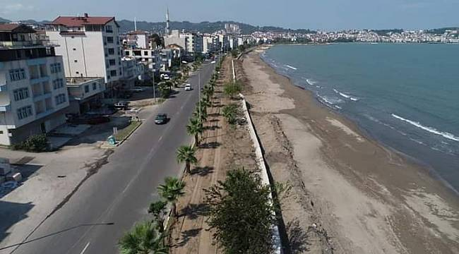 Büyükşehir'den 5 KM'lik bisiklet yolu