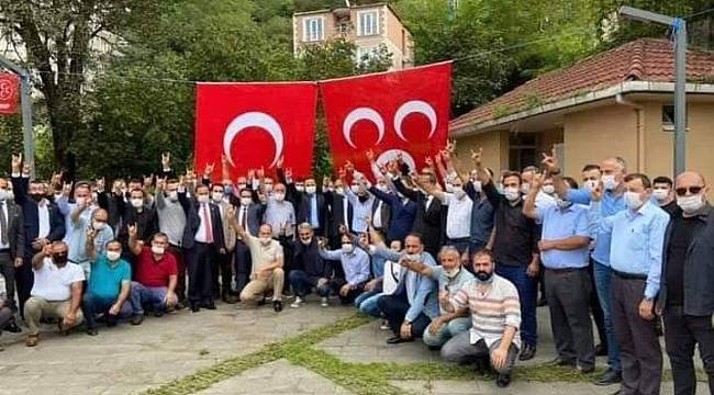 MHP Çatalpınar ve Çamaş kongrelerini yaptı