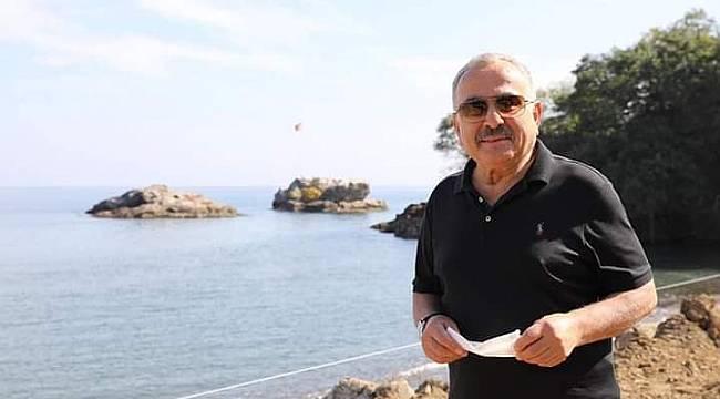 Başkan Güler Aktaş Plajı'na el attı