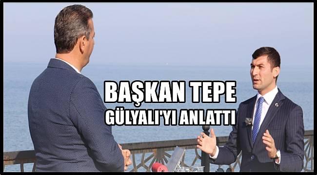Başkan Tepe Gülyalı'nın 18 ayını değerlendirdi