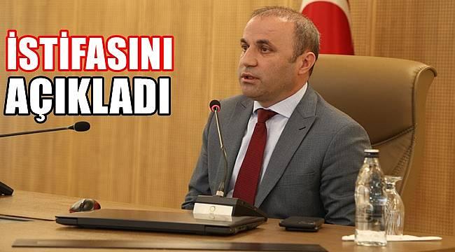 Bülent Şişman istifasını resmen açıkladı