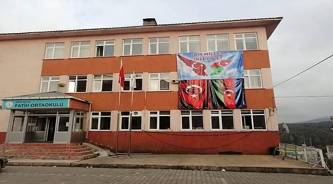 Fatih Ortaokulu'ndan Kardeş Azerbaycan'a anlamlı destek.