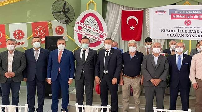 MHP Kumru İlçe Başkanlığına Caner Gürgezoğlu seçildi