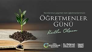 Başkan Güler: Öğretmenler birer eğitim neferidir