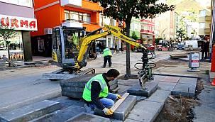 Büyükşehir'den caddelere dokunuş!