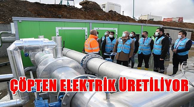 Günde 7 bin ailenin elektrik ihtiyacını karşılayacak