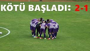 52 Orduspor öne geçtiği maçı kaybetti
