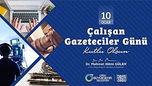 Başkan Güler: Gazeteciliğin meslek ilkeleri ve değerleri asla değişmemiştir