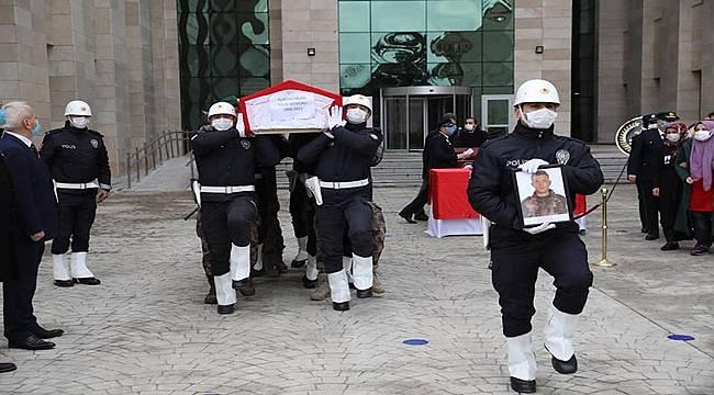 Polis Memuru Numan Kalem toprağa verildi
