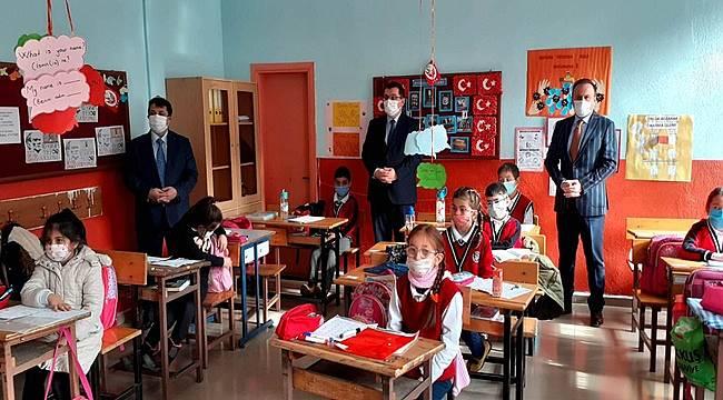Bekyürek yüz yüze eğitimin verildiği Saraycık'ta