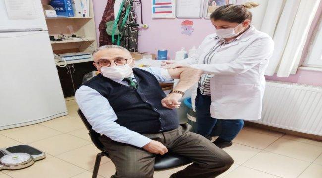 Türkiye Emekliler Derneği Batman'dan aşı çağrısı