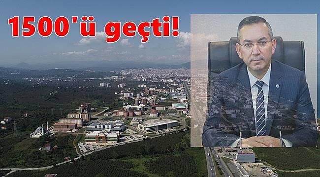 Rektör Akdoğan ODÜ'deki son rakamları açıkladı