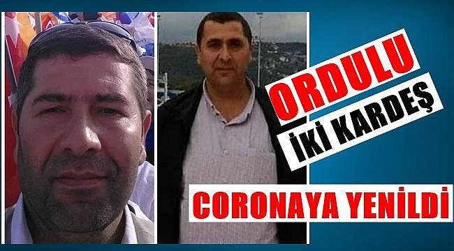 İki kardeş coronadan vefat etti