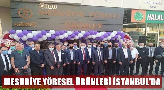 Mesudiye Yöresel Ürünleri İstanbul'da Satışa Sunuldu