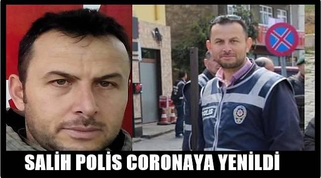 Ordu ve Giresun Polis Memuru Salih Akkaya'ya ağlıyor