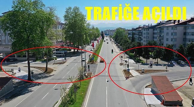 Yeni kavşak trafiği rahatlatacak