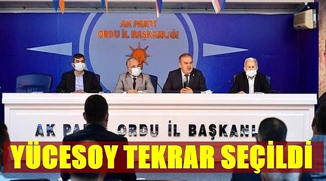 AK Parti Grup Başkan Vekilliğine İsmet Yücesoy tekrar seçildi
