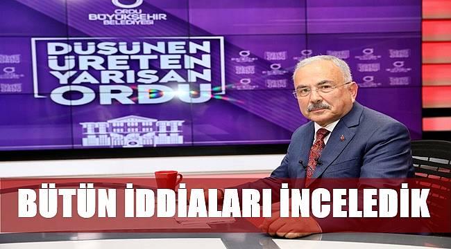 Başkan Güler canlı yayında açıkladı