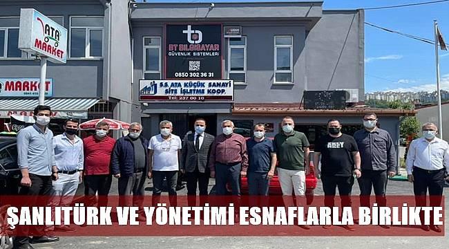 Başkan Şanlıtürk: Her zaman esnafımızın yanındayız