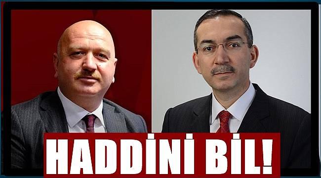 Milletvekili Gündoğdu ,Rektör Akdoğan'a yüklendi