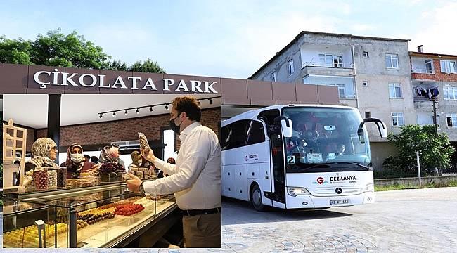 Tur Otobüsleri Çikolatapark'ta